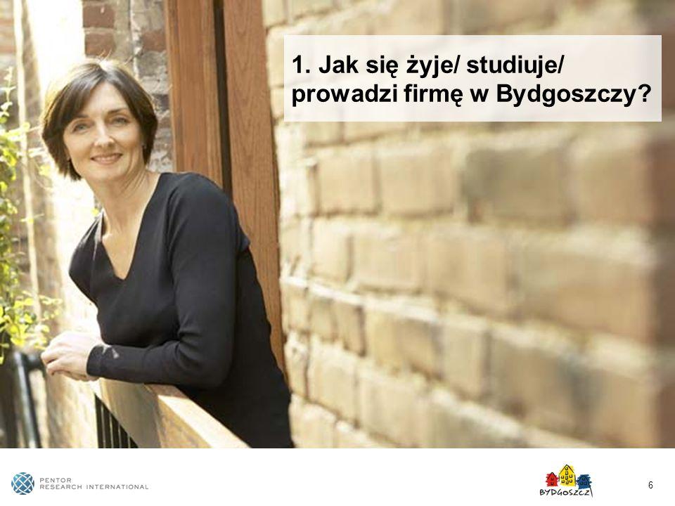 6 1. Jak się żyje/ studiuje/ prowadzi firmę w Bydgoszczy?