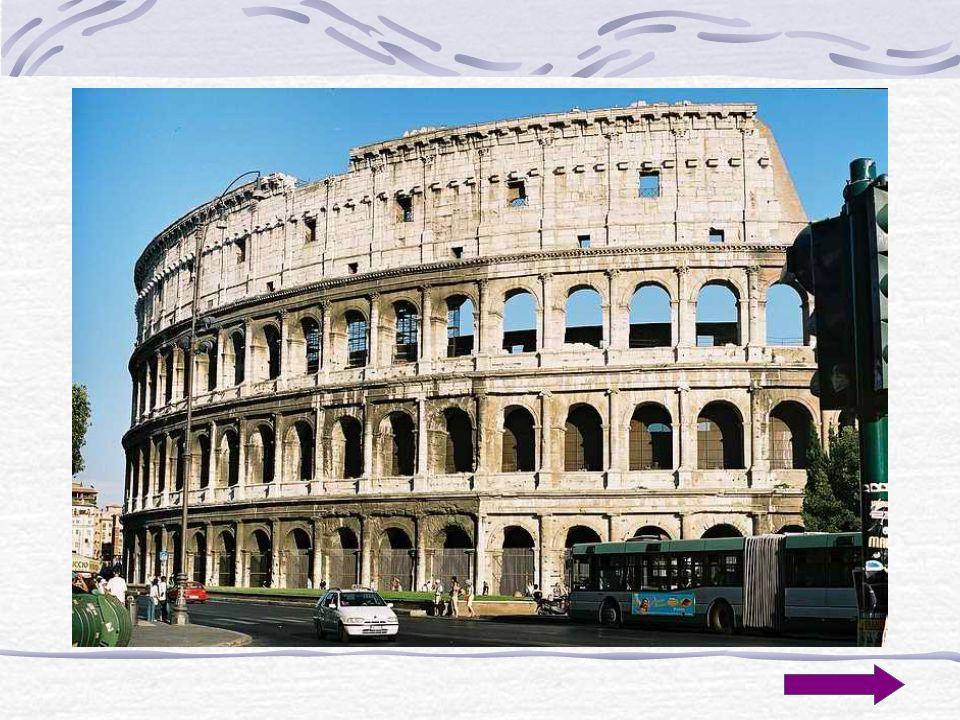 Koniec...Rzymska architektura jest jednym z najważniejszych filarów kultury...