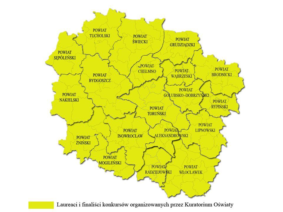 POWIAT GRUDZIĄDZKI powiat grudziądzki – razem 64 osoby wykaz konkursów: Grudziądz1.