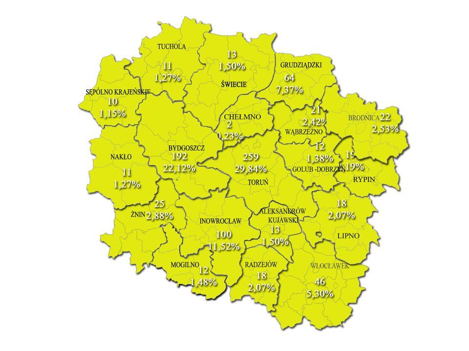 POWIAT BRODNICKI powiat brodnicki – razem 22 osoby wykaz konkursów: Bobrowo Brodnica1.