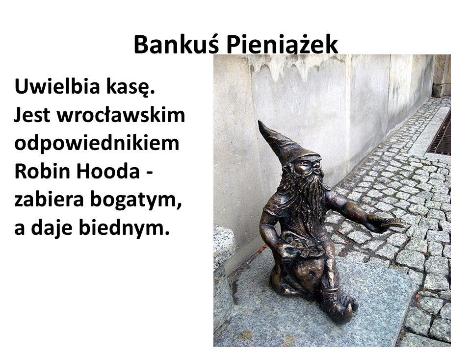 Bibliofil Najbardziej oczytany krasnal wrocławski.
