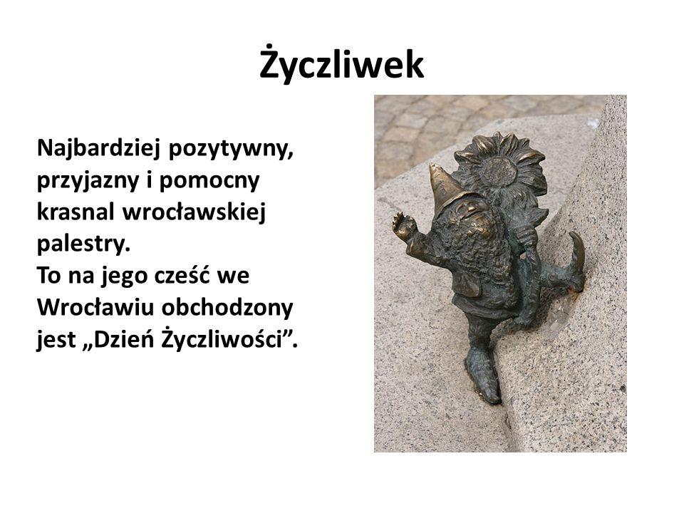 Profesor Najbardziej uczony spośród wrocławskich krasnali.