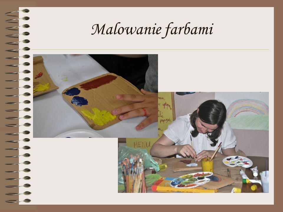 Malowanie farbami