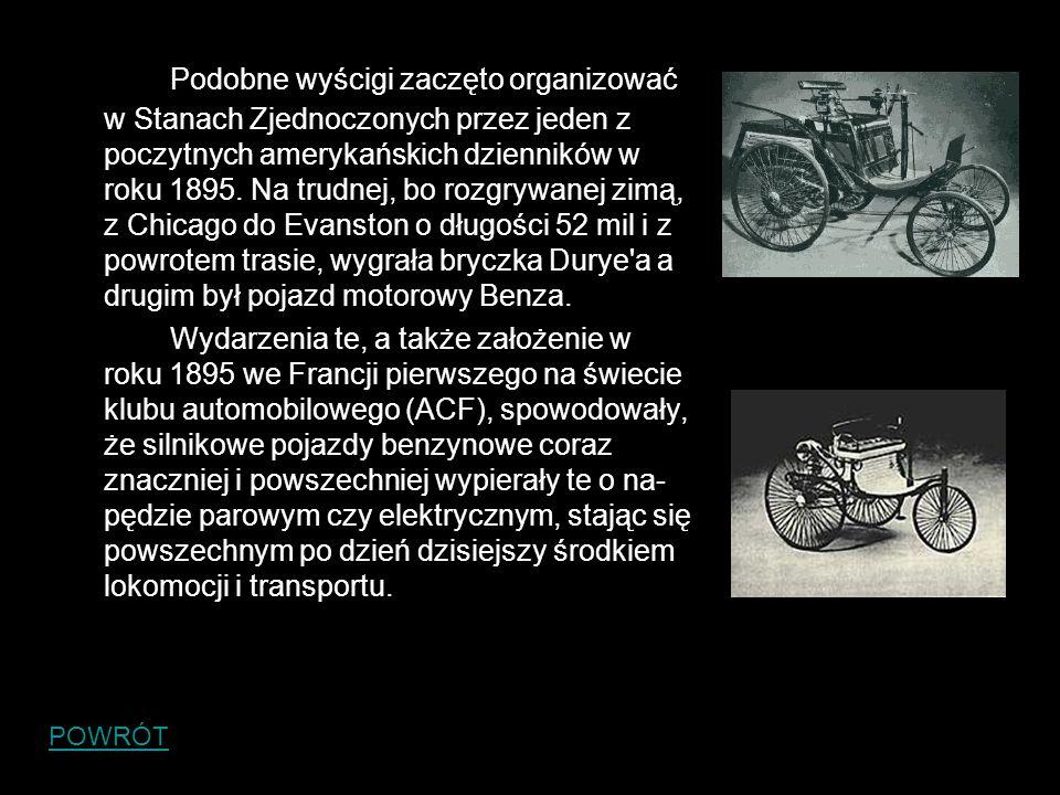 Parowóz i samochód- jedna historia: Samochód i parowóz początkowo miały wspólną historię.