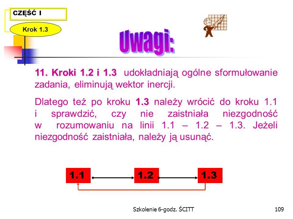 Szkolenie 6-godz.ŚCITT109 11.Kroki 1.2 i 1.3 11.