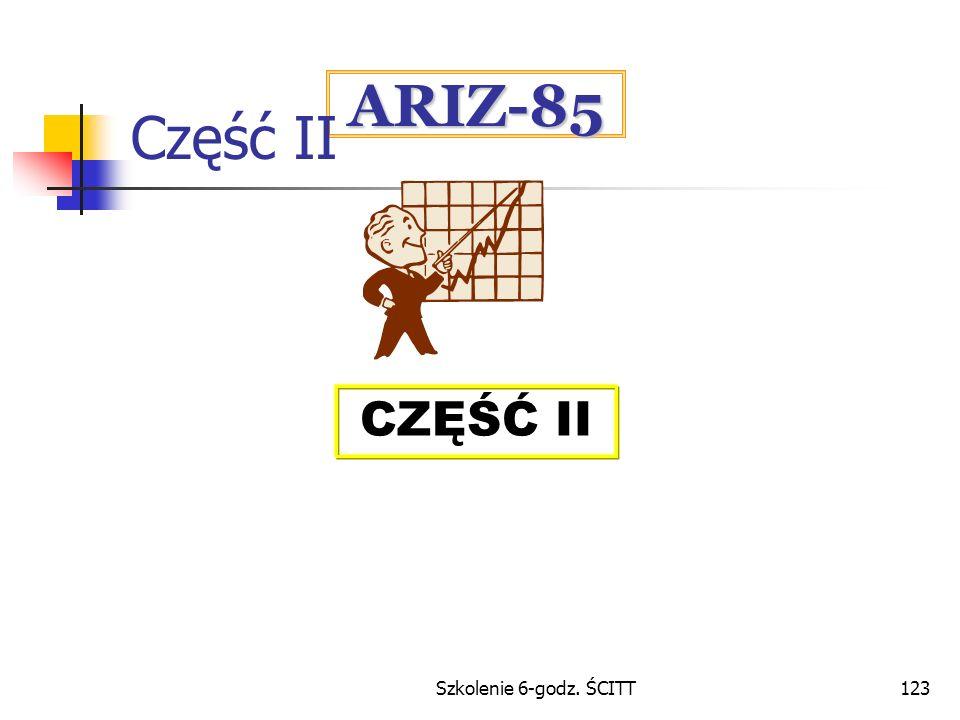 Szkolenie 6-godz. ŚCITT123 ARIZ-85 CZĘŚĆ II Część II