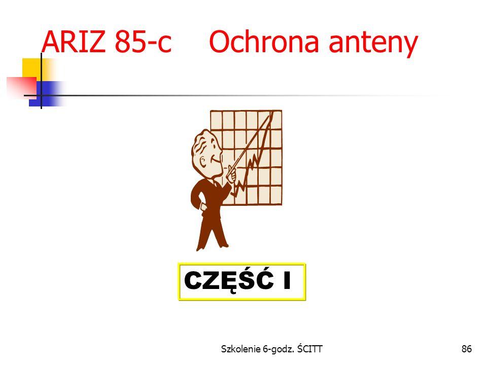 Szkolenie 6-godz. ŚCITT86 CZĘŚĆ I ARIZ 85-c Ochrona anteny