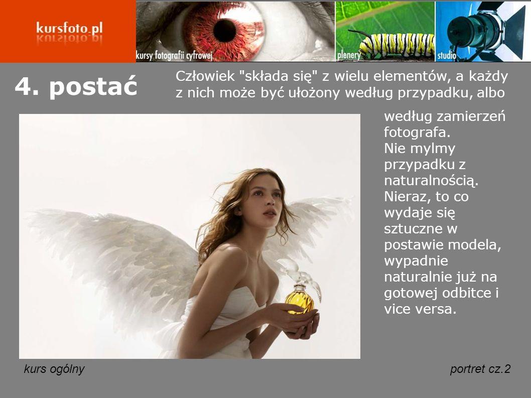 kurs ogólnyportret cz.2 4.postać według zamierzeń fotografa.