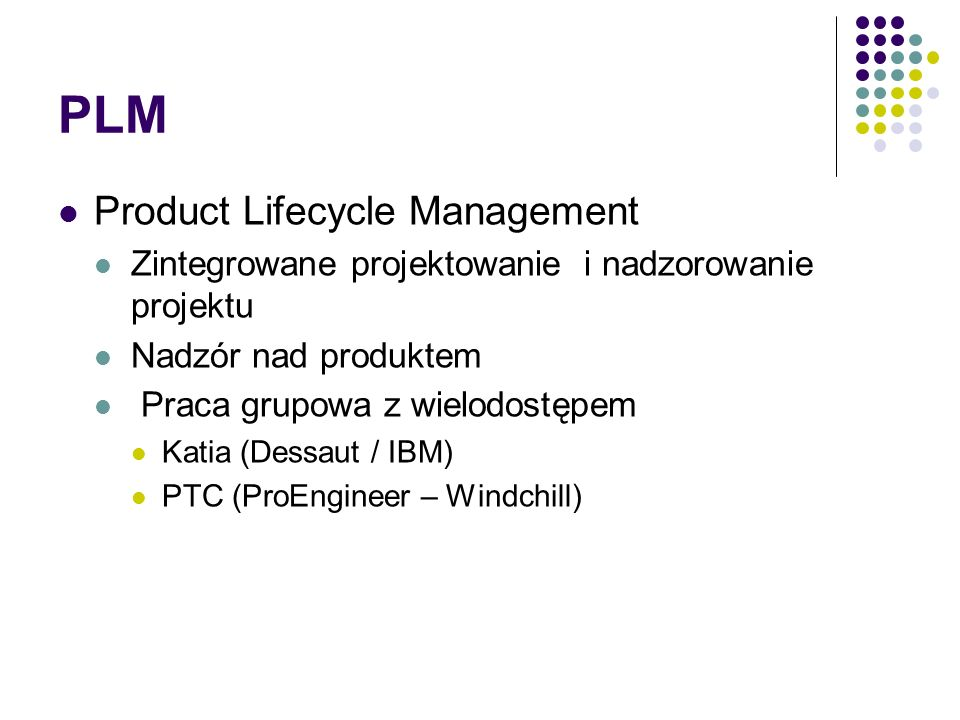 mySAP 2005 mySAP Product Lifecycle Management mySAP PLM integruje wszystkich uczestników procesu rozwoju produktu: projektantów, dostawców, producentó