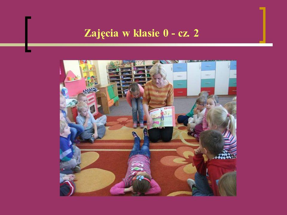 Zajęcia w klasie 0 - cz. 2