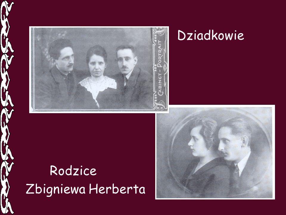 Rodzice Dziadkowie Zbigniewa Herberta