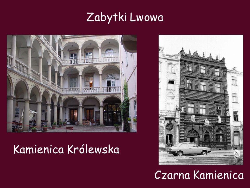 Kamienica Królewska Zabytki Lwowa Czarna Kamienica