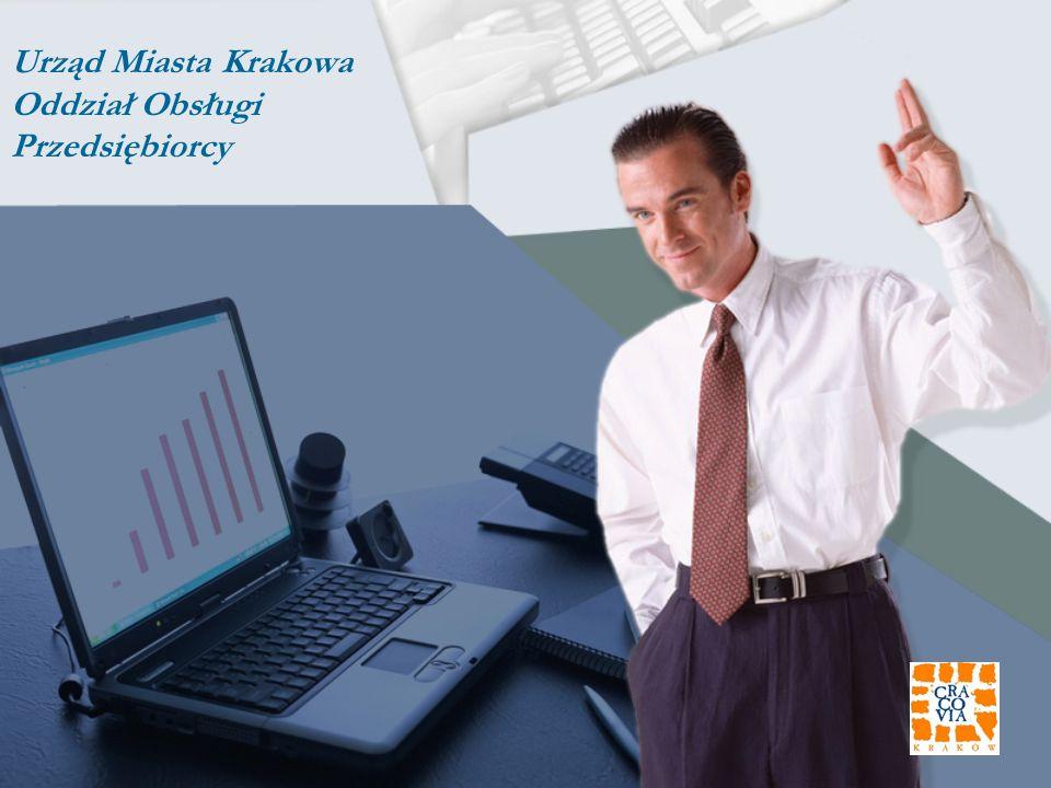Urząd Miasta Krakowa Oddział Obsługi Przedsiębiorcy