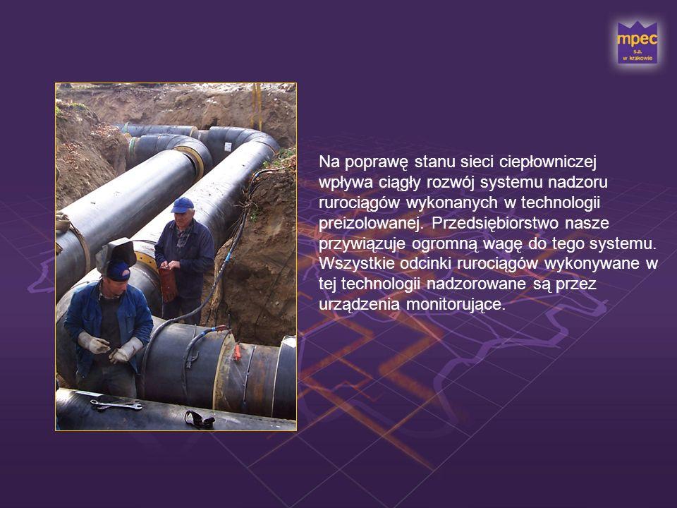 Standardowym wyposażeniem nowych rurociągów jest system alarmowy służący do wykrywania i lokalizacji nieszczelności.