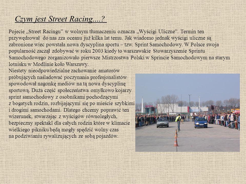 Czym jest Street Racing..... Pojecie Street Racingu w wolnym tłumaczeniu oznacza Wyścigi Uliczne.