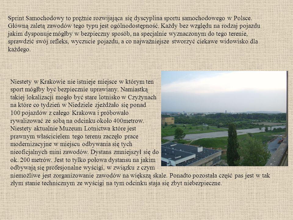 Sprint Samochodowy to prężnie rozwijająca się dyscyplina sportu samochodowego w Polsce.