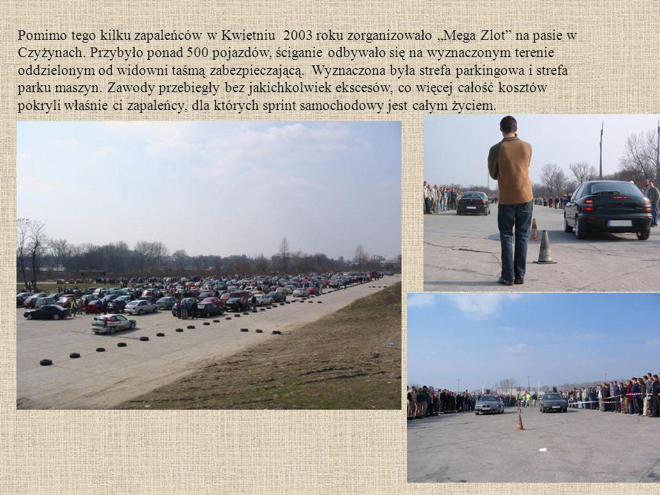 Pomimo tego kilku zapaleńców w Kwietniu 2003 roku zorganizowało Mega Zlot na pasie w Czyżynach.