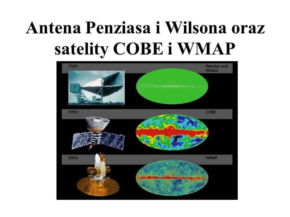 A.Penzias i R.Wilson 1965 (Nobel 1978) - udowodnili istnienie promieniowania J.Mather i G.Smoot '92-'03 (Nobel 2006) - udowodnili, że w to promieniowa