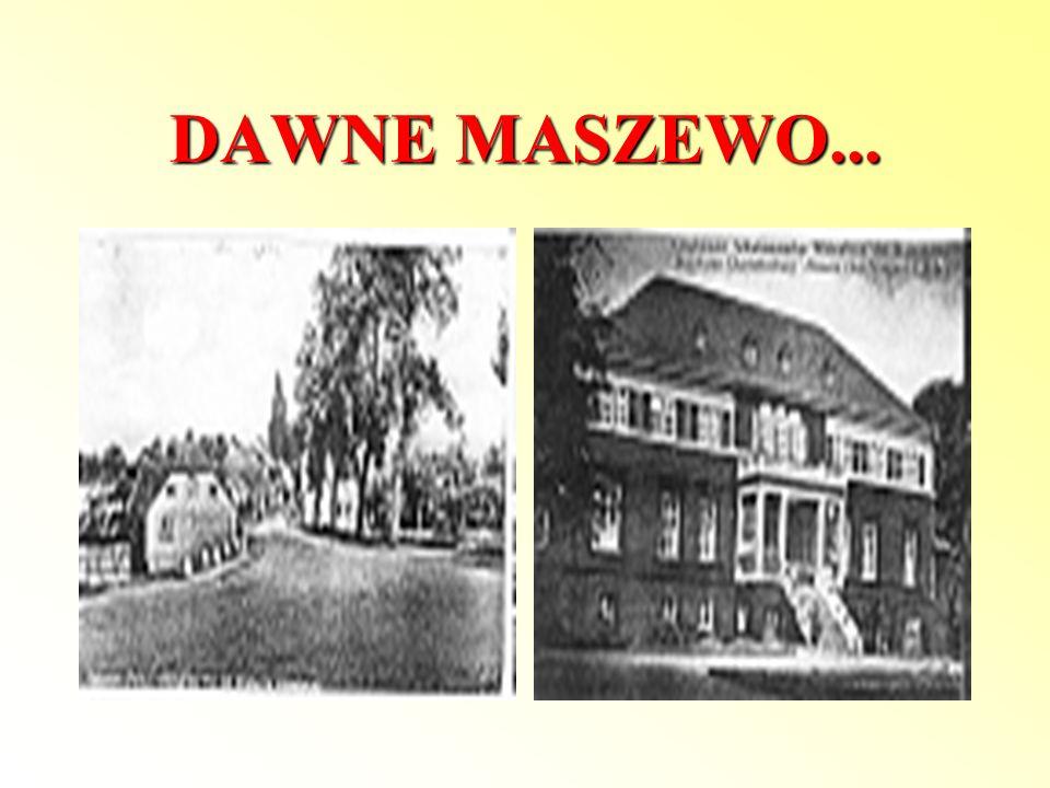 Pomnik Poległych W 1926 roku, Rada Miejska Maszewa, zbudowała na tym terenie pomnik poświęcony pamięci poległych w I wojnie światowej. Pomnik, w formi