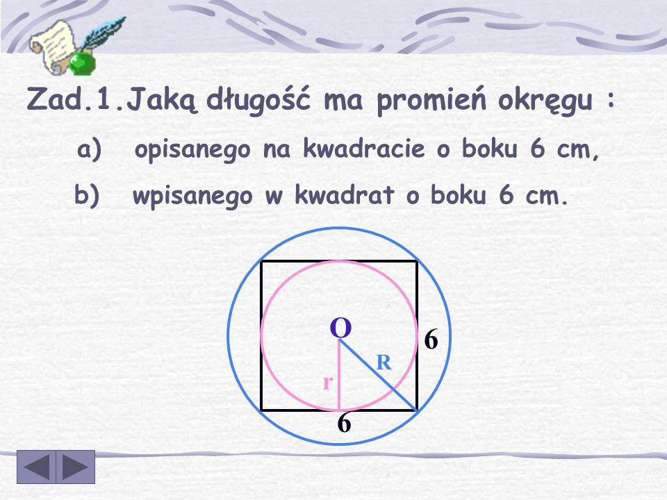 Na każdym wielokącie foremnym można opisać okrąg i w każdy wielokąt foremny można wpisać okrąg. Środek okręgu opisanego na wielokącie foremnym jest je