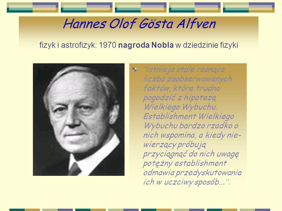 Christian Boehmer Anfinsen biochemik: 1972 nagroda Nobla w dziedzinie chemii Myślę, że tylko idiota może być ateistą.