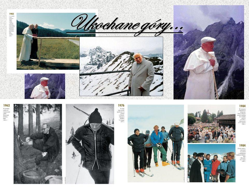 Pielgrzym pokoju Jan Paweł II pielgrzymował po całym świecie. Najbliższe jednak były Mu pielgrzymki do swojej ojczyzny-Polski.