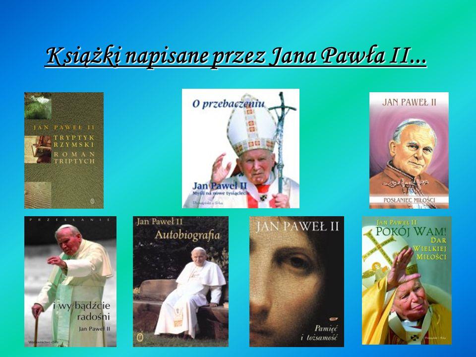 A oto niektóre książki z kategorii,,Jan Paweł II. A oto niektóre książki z kategorii,,Jan Paweł II.