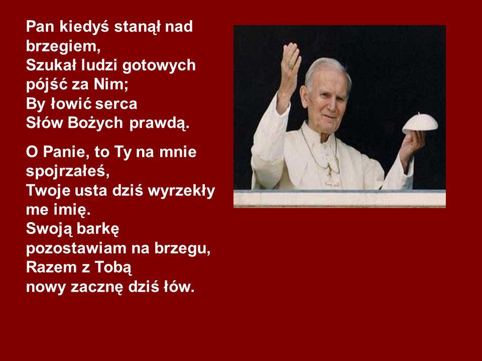 ...człowiek nie może stać się dla człowieka katem, musi pozostać dla człowieka bratem… /Jan Paweł II/
