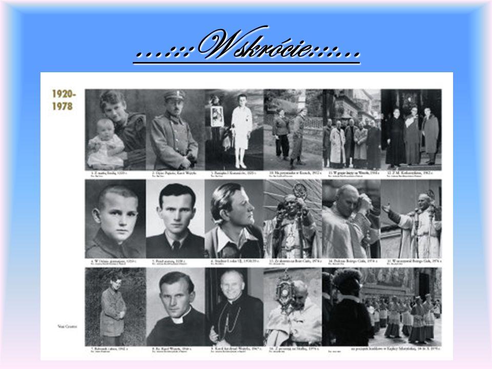 Człowiek jest wielki nie przez to, co ma, nie przez to, kim jest, lecz przez to czym dzieli się z innymi /Jan Paweł II/
