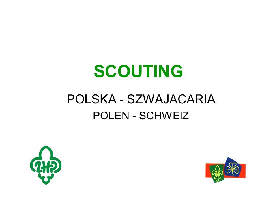 SCOUTING POLSKA - SZWAJACARIA POLEN - SCHWEIZ