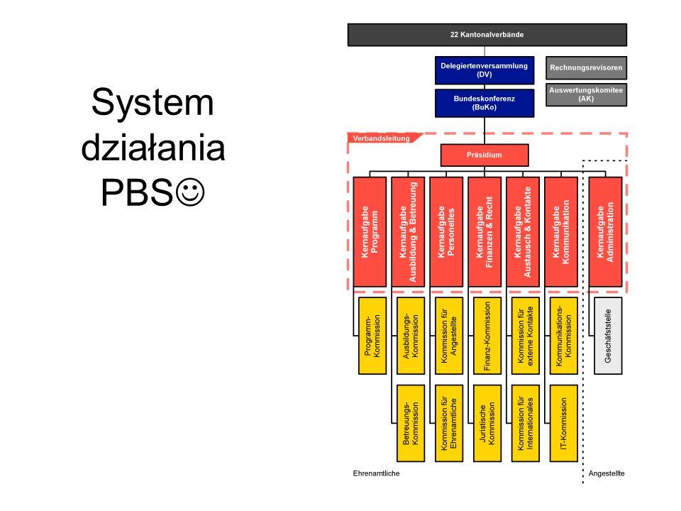 System działania PBS