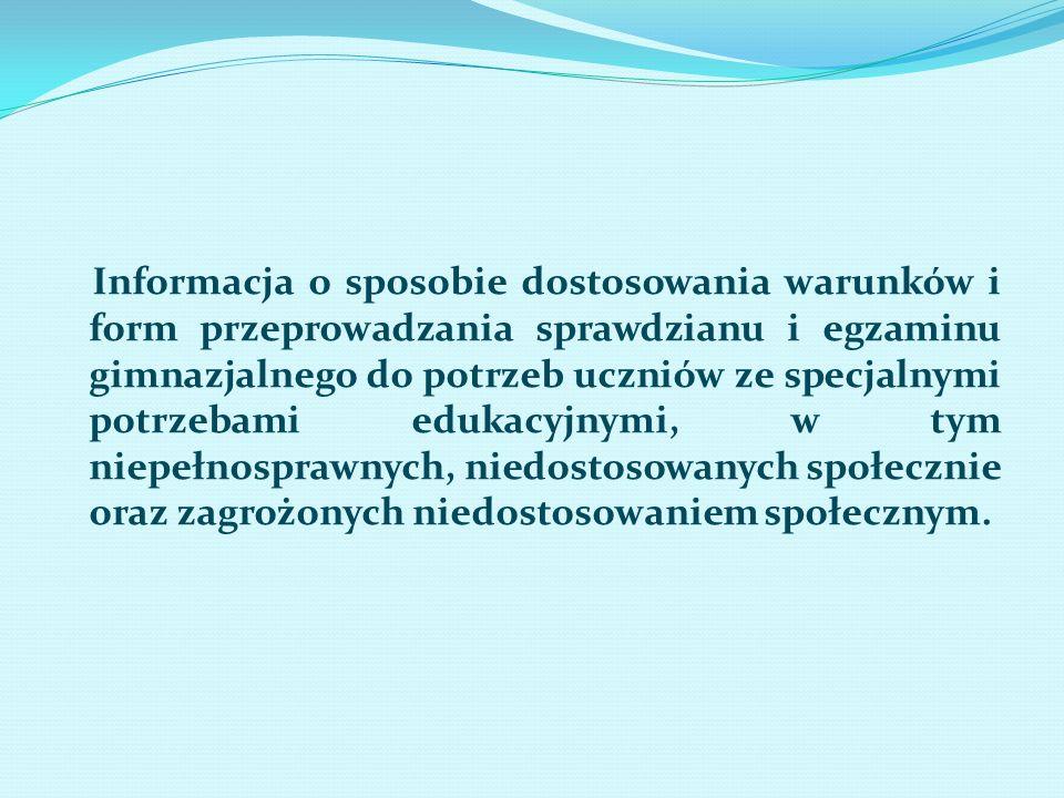 Podstawa prawna : § 37 ust.7 rozporządzenia Ministra Edukacji Narodowej z dnia 30 kwietnia 2007 r.
