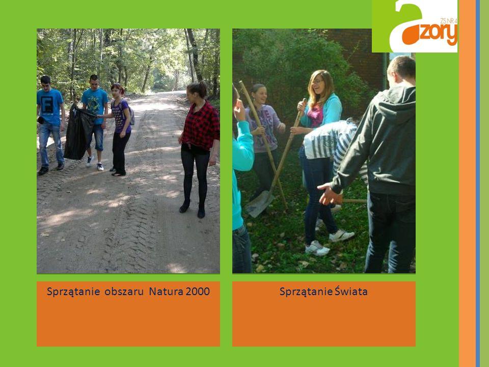 Sprzątanie obszaru Natura 2000Sprzątanie Świata