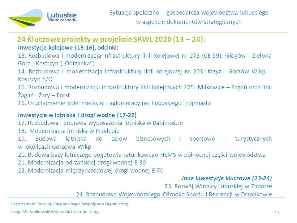 Inwestycje kolejowe (13-16), odcinki: 13.