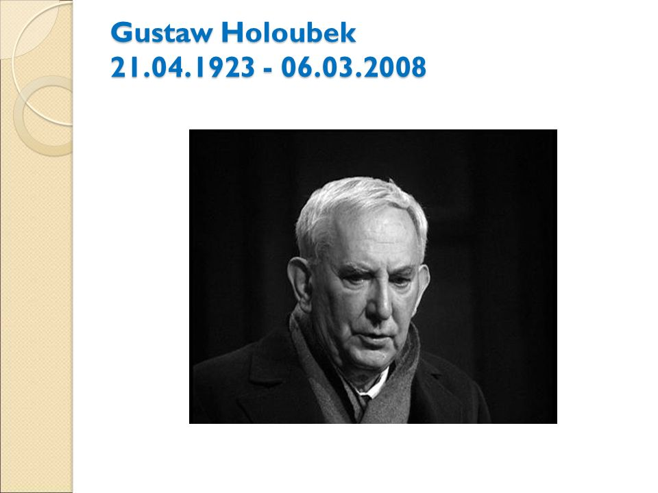Gustaw Holoubek 21.04.1923 - 06.03.2008