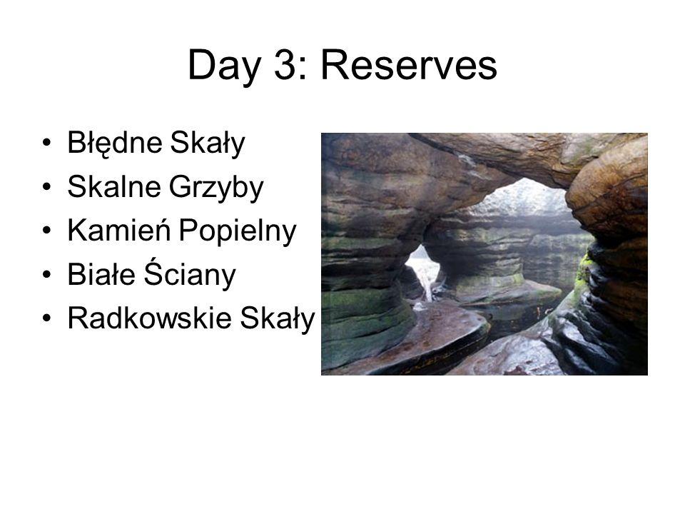 Day 3: Reserves Błędne Skały Skalne Grzyby Kamień Popielny Białe Ściany Radkowskie Skały