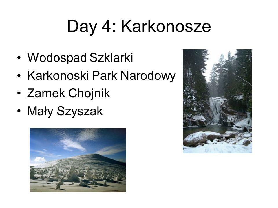 Day 4: Karkonosze Wodospad Szklarki Karkonoski Park Narodowy Zamek Chojnik Mały Szyszak