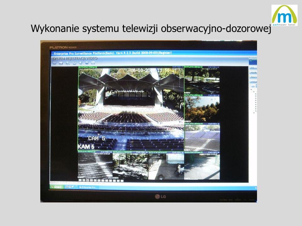Wykonanie systemu telewizji obserwacyjno-dozorowej