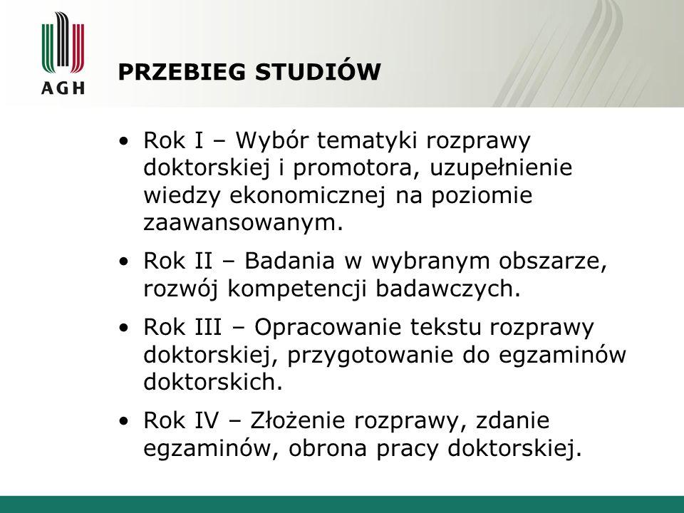 TERMINY REKRUTACJI Rejestracja elektroniczna w systemie AGH i składanie dokumentów w pokoju 102, budynek Wydziału Zarządzania AGH (D14) do 10 września 2013.