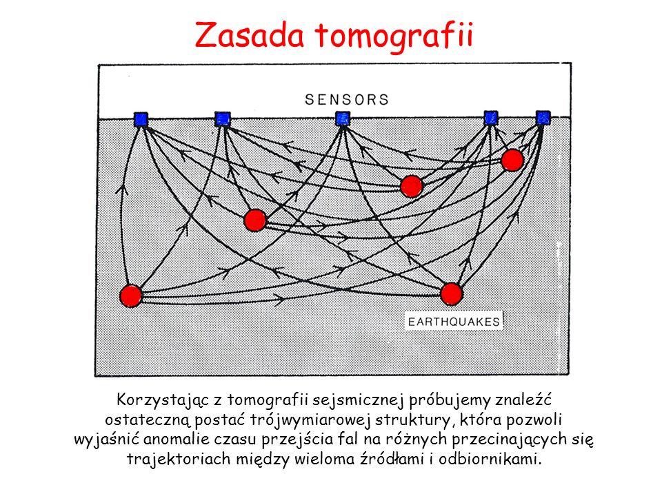 Korzystając z tomografii sejsmicznej próbujemy znaleźć ostateczną postać trójwymiarowej struktury, która pozwoli wyjaśnić anomalie czasu przejścia fal