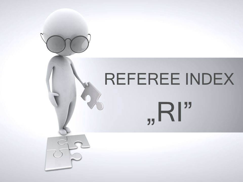 REFEREE INDEX RI