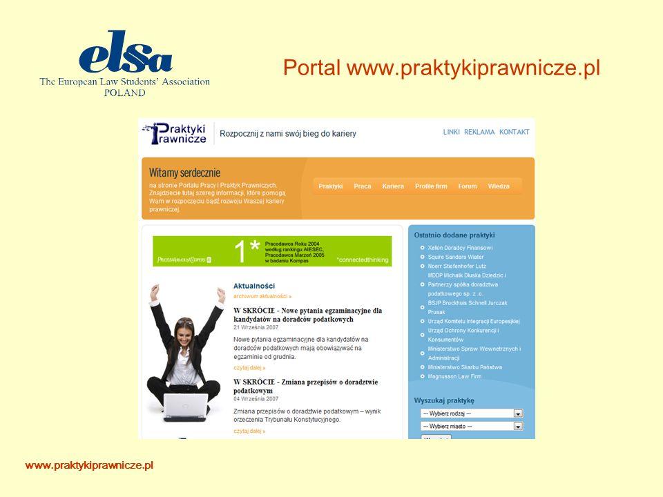 Portal www.praktykiprawnicze.pl www.praktykiprawnicze.pl