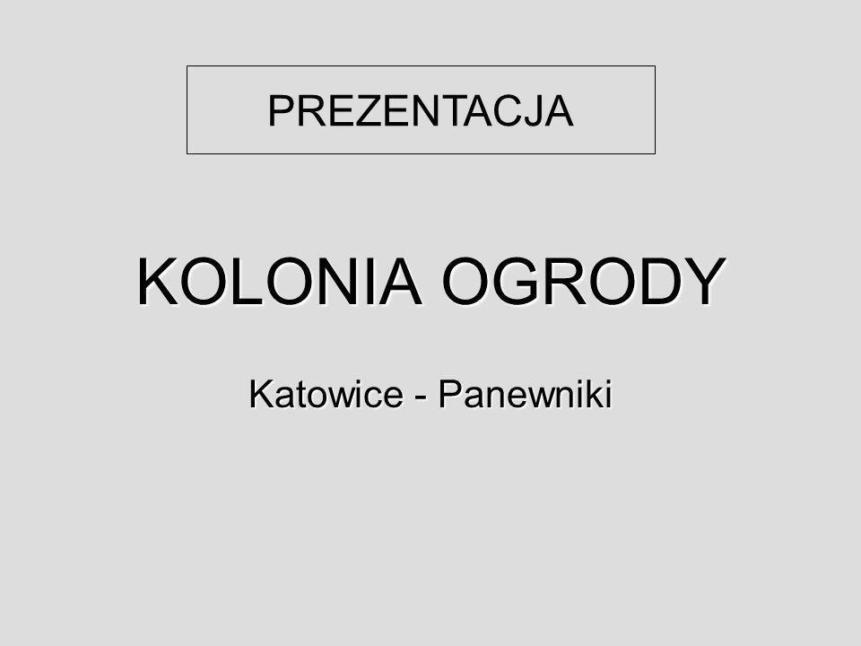 KOLONIA OGRODY Katowice - Panewniki PREZENTACJA