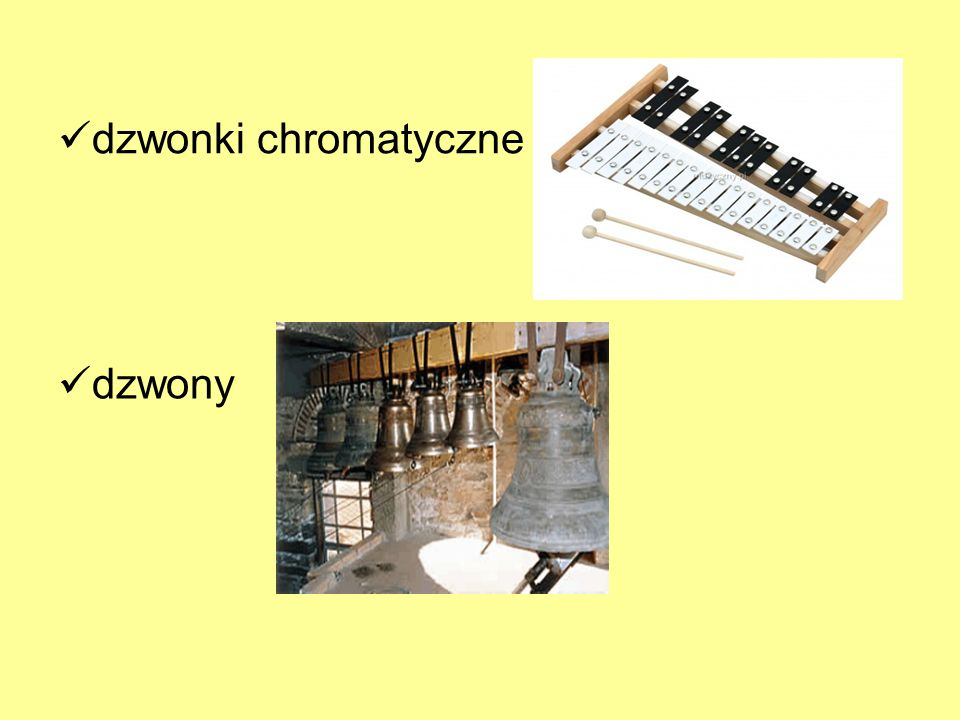dzwonki chromatyczne dzwony