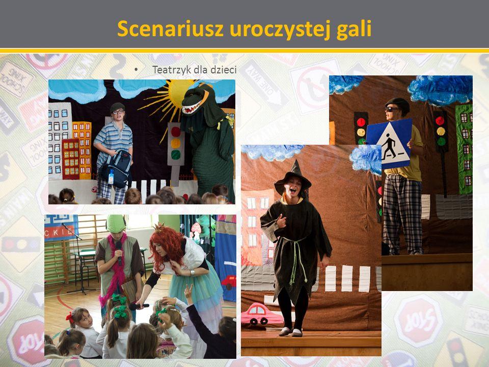 Scenariusz uroczystej gali Teatrzyk dla dzieci