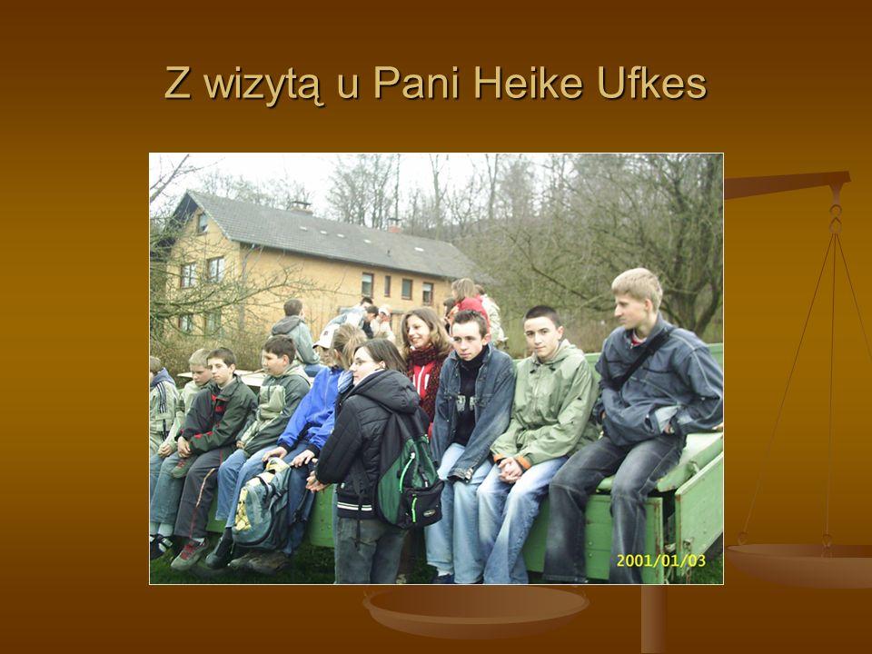 Z wizytą u Pani Heike Ufkes