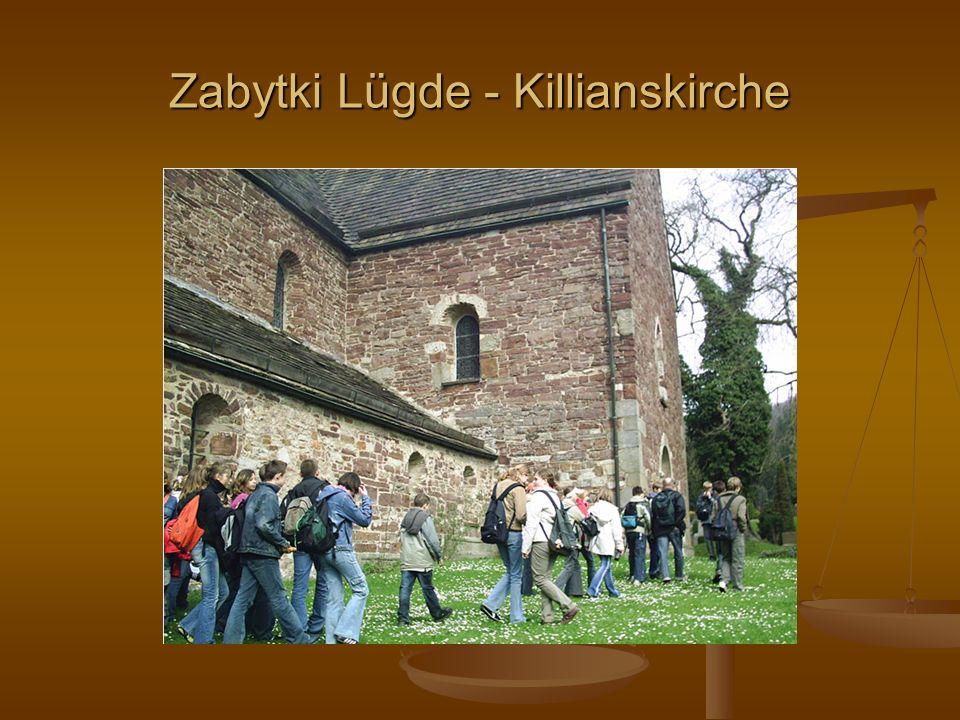 Zabytki Lügde - Killianskirche