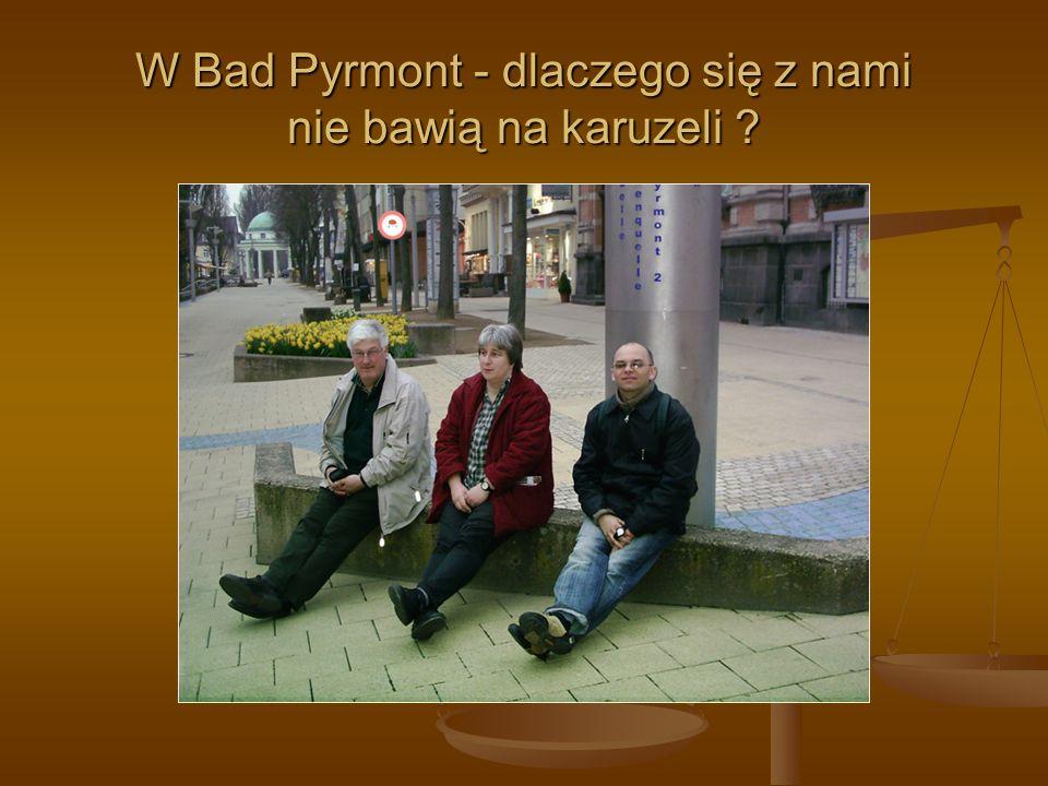 W Bad Pyrmont - dlaczego się z nami nie bawią na karuzeli