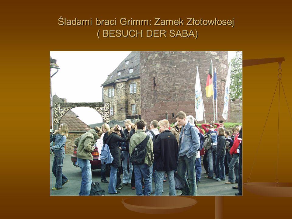 Śladami braci Grimm: Zamek Złotowłosej ( BESUCH DER SABA)