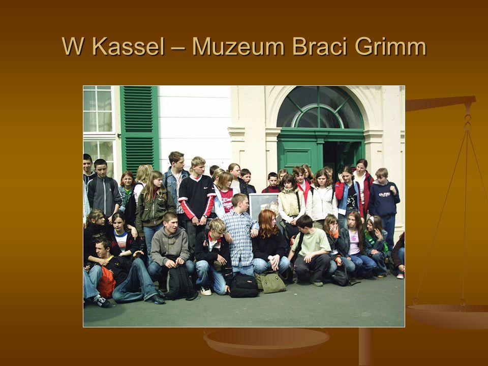 W Kassel – Muzeum Braci Grimm